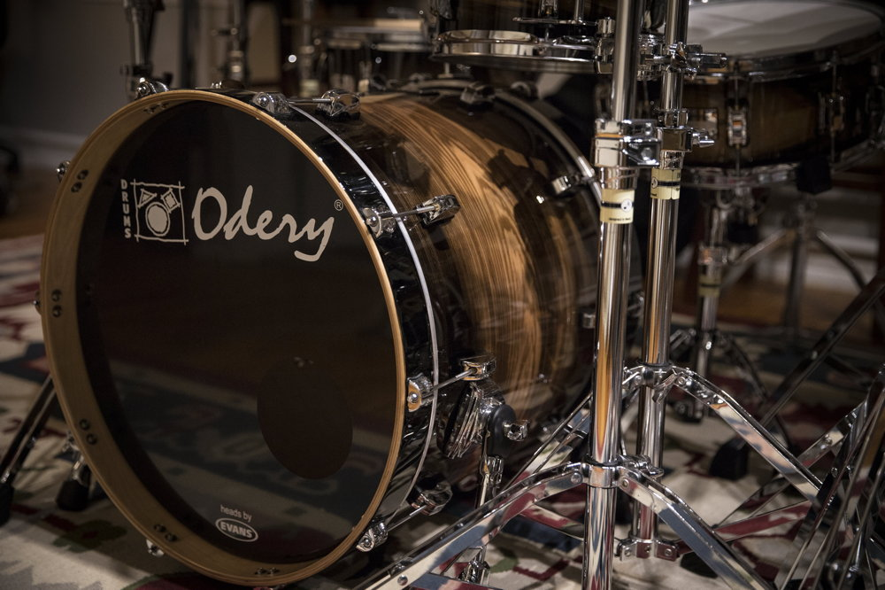 Phil Maturano and Odery Drums