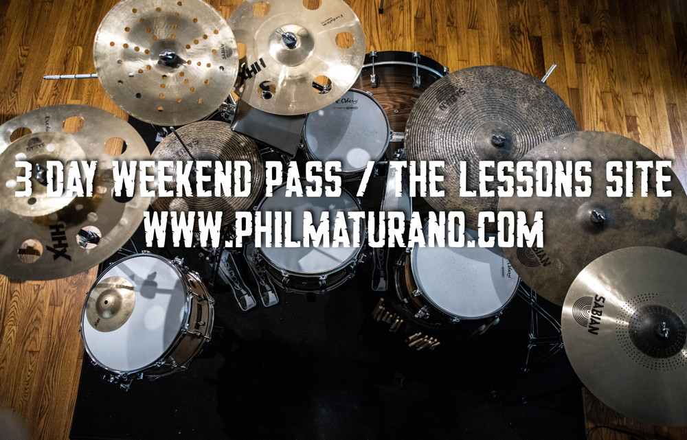 3 Day Pass Phil Maturano Lessons